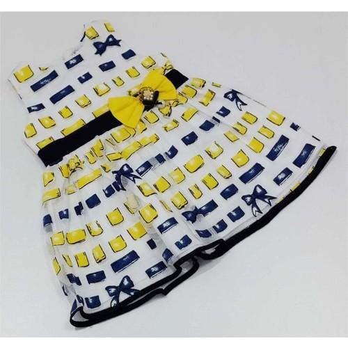 Kts Baby Fiyonklu Bebek Elbise