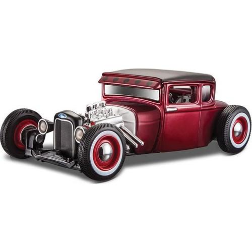 Maisto 1929 Ford Model A 1:24 Outlaws Kırmızı