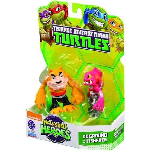 Ninja Kaplumbağalar Dogpound Ve Fıshface Mini Figür 6cm