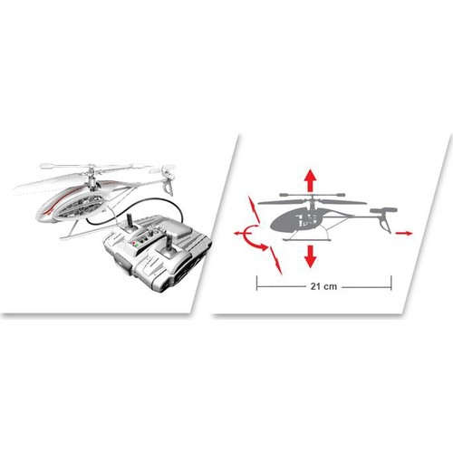 Silverlit Phoenix U.K. Helikopter 4CH Gyro Beyaz