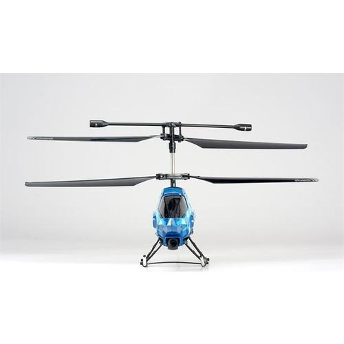 Silverlit Sky Blaze U.K Helikopter 2.4G - 3CH Gyro Mavi