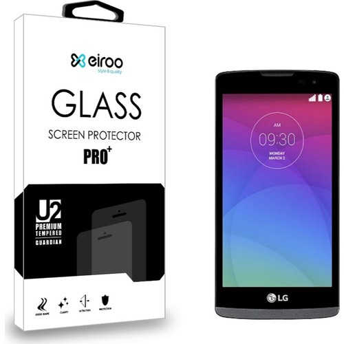 Eiroo LG Leon Tempered Glass Cam Ekran Koruyucu