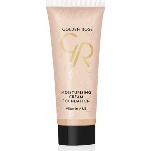 Golden Rose Moisturizing Cream Foundation - Fondöten - 8