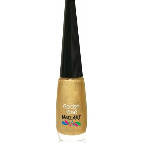 Golden Rose Nail Art Nail Lacquer No:108