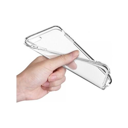 Angel Eye Samsung Galaxy A3 İnce Silikon Koruyucu Arka Kılıf Şeffaf