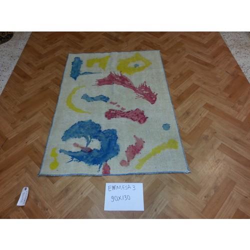 Durusel Halı El Dokuma Tek Renk Halı 90x130