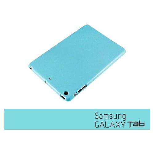 Toptancı Kapında Samsung Galaxy Tab T530 Mavi Silikon Kılıf