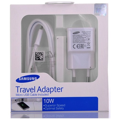 Vip Samsung Galaxy Grand Şarj Cihazı 10W 2A Beyaz