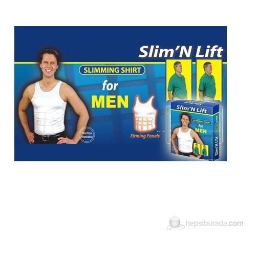 Vip Slim Lift Erkekler İçin Atlet Tipi Göbek Korsesi L