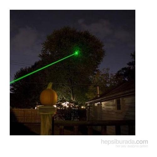 Vip Yeşil Lazer Pointer 1000 mW 100 Km Etkili (13 Başlıklı)