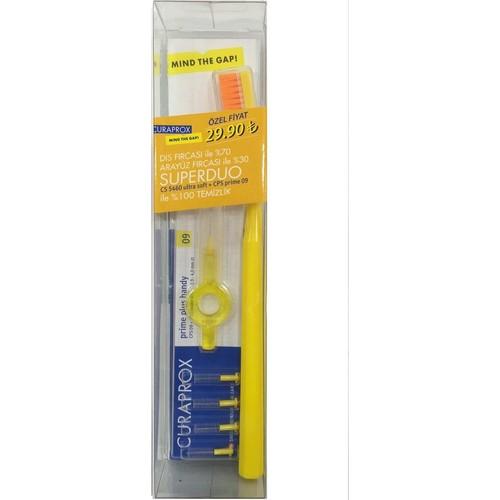 Curaprox Superduo 09 Arayüz + 5460 Diş Fırçası Özel Paket