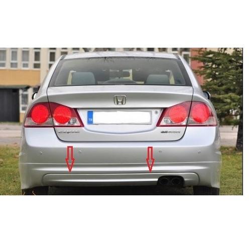 Civic Honda 2006 2011 Mugen Arka Tampon Eki Boyali Fiyati