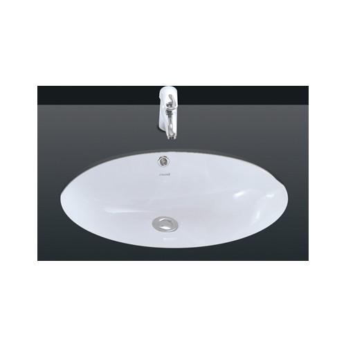 Creavit Tezgah Altı Oval Lavabo 37X51 Cm Beyaz