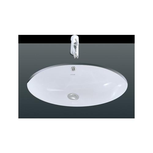 Creavit Tezgah Altı Oval Lavabo 33X43 Cm Beyaz