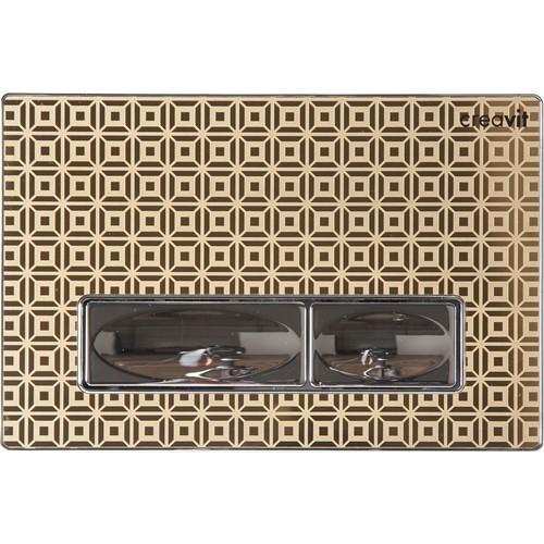 Creavit Design Metal Paslanmaz Kumanda Paneli Altın