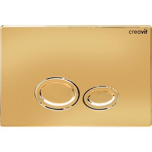 Creavit Drop Altın Kaplama Kumanda Paneli