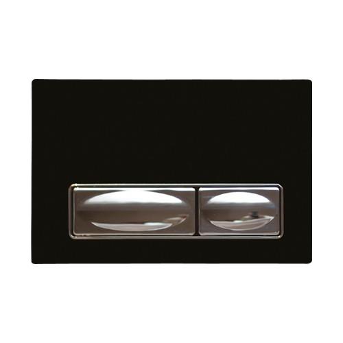 Creavit Design Siyah Kumanda Paneli Solid Cam Metal
