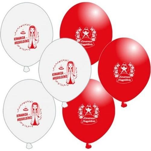 Kınamıza Hoşgeldiniz Balon 100 Adet
