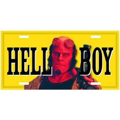 Dark Horse Hellboy Movie License Plate Plaka