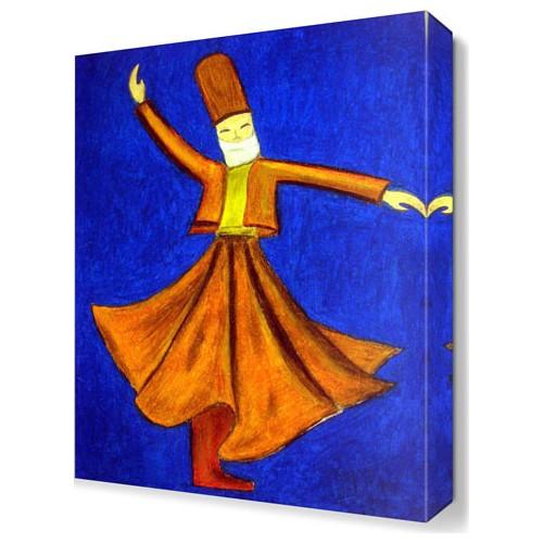 Dekor Sevgisi Semazen3 Canvas Tablo 45x30 cm