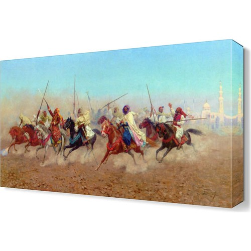 Dekor Sevgisi Savaş Ordusu Canvas Tablo 45x30 cm