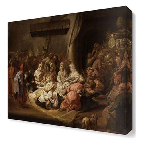 Dekor Sevgisi Osmanlı Dönemi5 Canvas Tablo 45x30 cm
