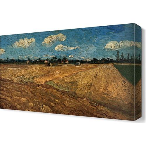 Dekor Sevgisi Tarla Tablosu 45x30 cm