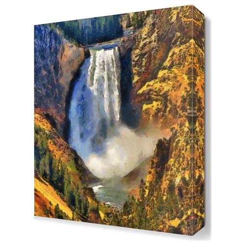 Dekor Sevgisi Albert Bierstadt Tablosu 45x30 cm