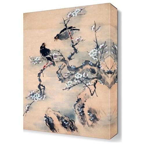 Dekor Sevgisi Karga Tablosu 45x30 cm
