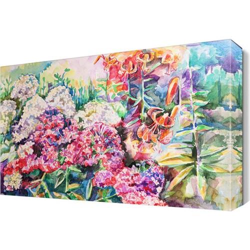 Dekor Sevgisi Rengarenk Çiçekler 2 Tablo 45x30 cm