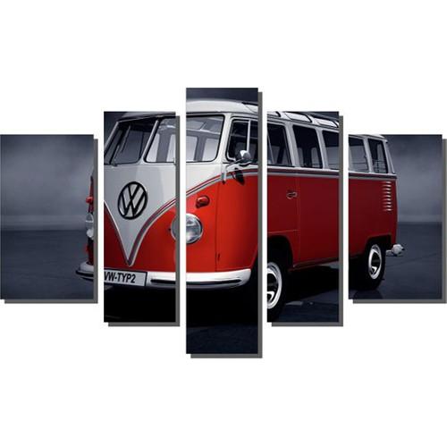 Dekor Sevgisi Wolkswagen Tablosu 84x135 cm