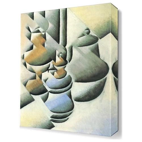 Dekor Sevgisi Juan Gris Canvas Tablo 45x30 cm