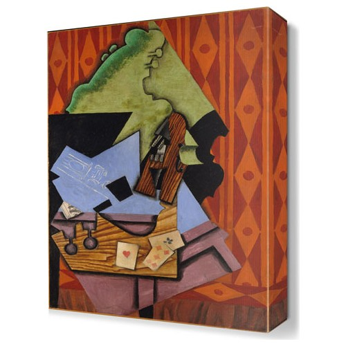 Dekor Sevgisi Juan Gris11 Canvas Tablo 45x30 cm