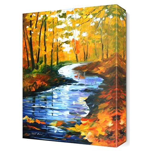 Dekor Sevgisi Akarsu Canvas Tablo 45x30 cm