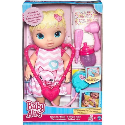 Baby Alive Bebeğim Mila Doktorda