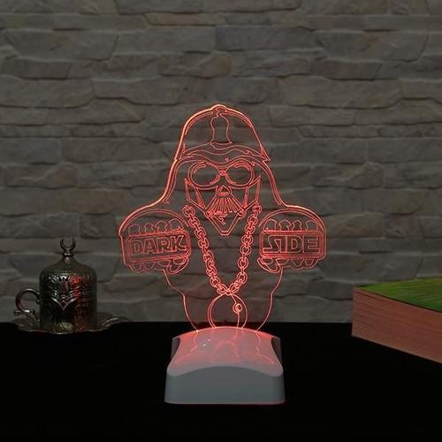 Decor Desing 3 Boyutlu Dark Side Lamba V23D144