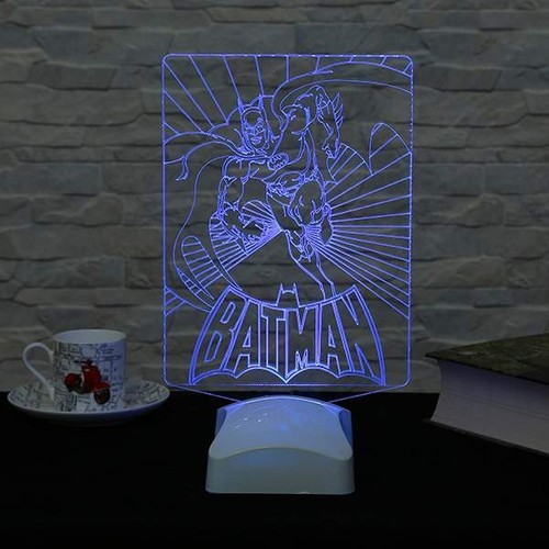 Decor Desing 3 Boyutlu Batman Lamba V23D152