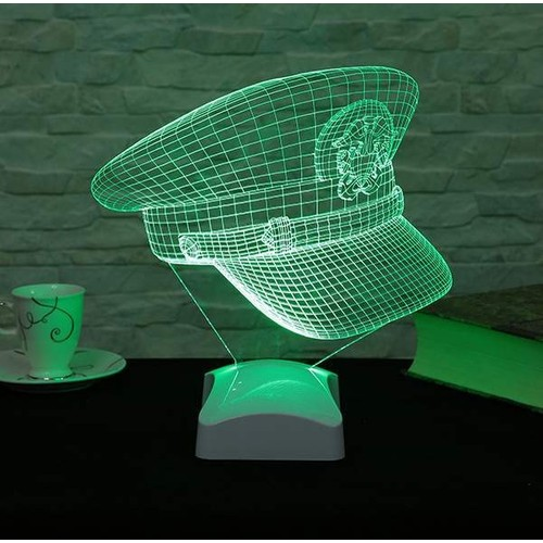 Decor Desing 3 Boyutlu Şapka Lamba V23D167