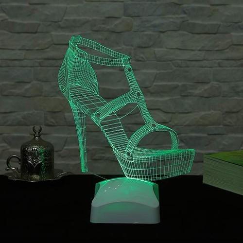 Decor Desing 3 Boyutlu Ayakkabı Lamba V23D169