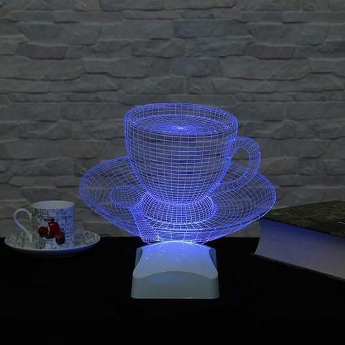 Decor Desing 3 Boyutlu Fincan Kahve Lamba V23D173