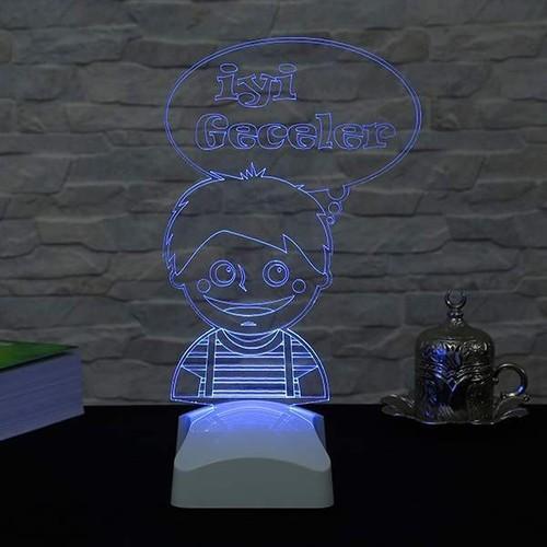 Decor Desing 3 Boyutlu Çocuk Odası Lamba V23D202
