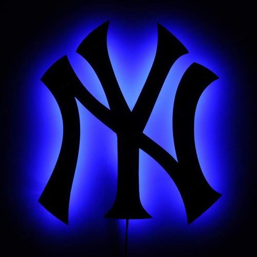 Decor Desing Gölge Lamba Yankees Sembolü Glmb008