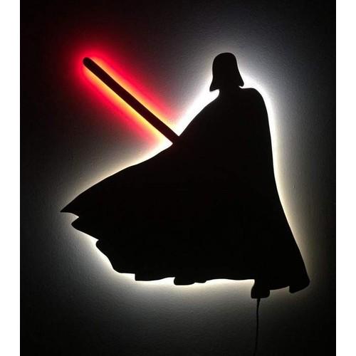 Decor Desing Gölge Lamba Darth Vader Sembolü Glmb020