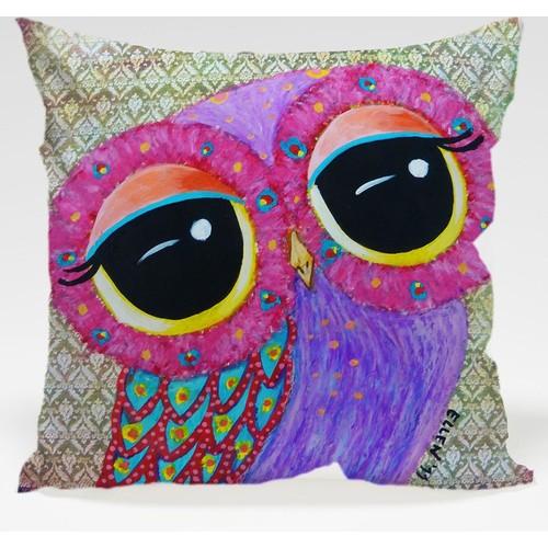 Decor Desing Baykuş Yastık Kılıfı Owl020