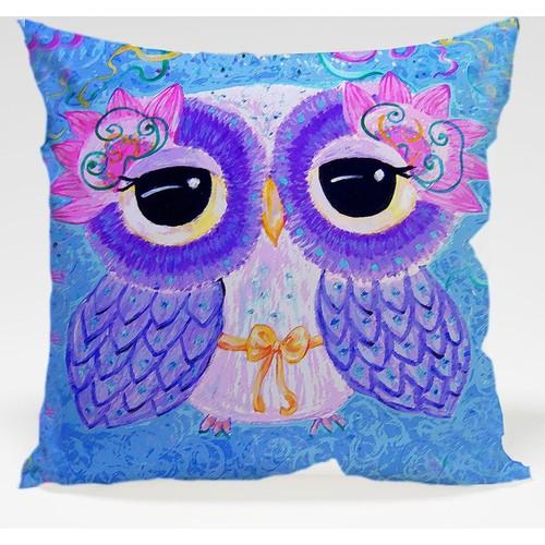 Decor Desing Baykuş Yastık Kılıfı Owl024