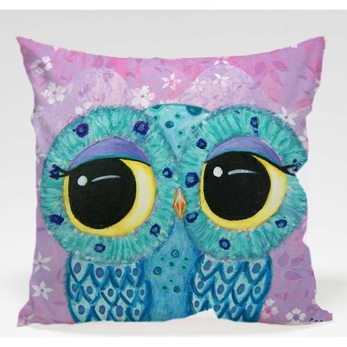 Decor Desing Baykuş Yastık Kılıfı Owl027