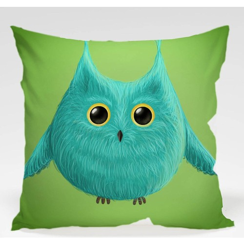 Decor Desing Baykuş Yastık Kılıfı Owl035