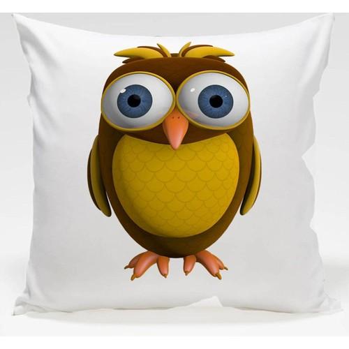 Decor Desing Baykuş Yastık Kılıfı Owl100