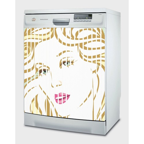 Decor Desing Beyaz Eşya Sticker Ybe16