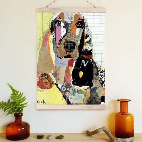 Decor Desing Askılı Deri Duvar Posteri Hak063